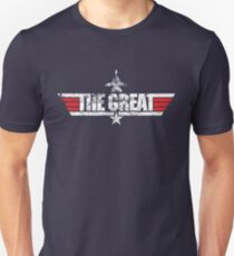 Custom Top Gun Style Style - The Great T-Shirt