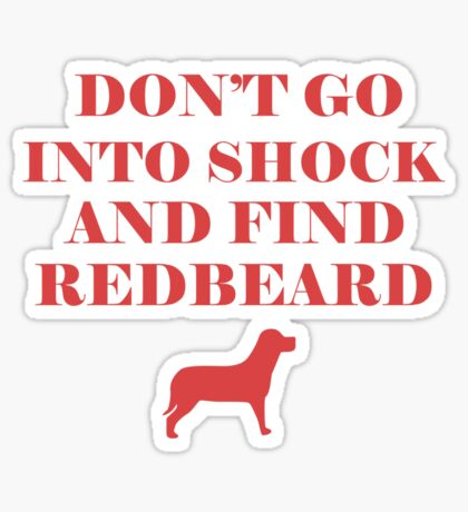 Find RedBeard Sticker