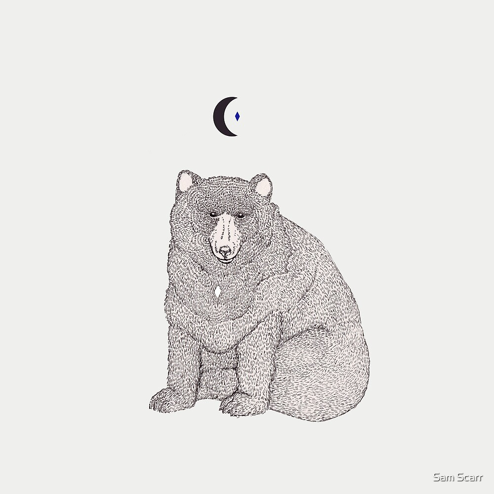 Moon Bear by samclaire