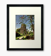 Sugar Mill Barbados Framed Print