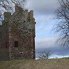 Greenknowe Tower, Gordon, Berwickshire by blod