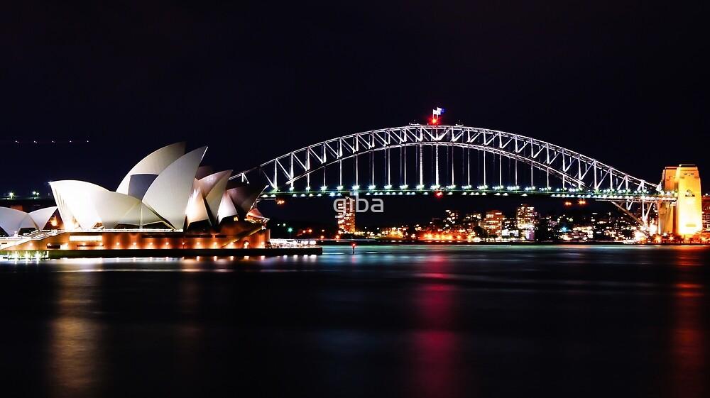 The Sydney Harbour Bridge by giba