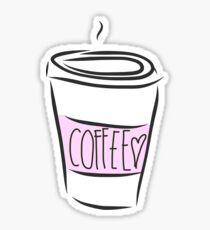 Cute Coffee Cup Sticker
