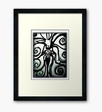 Slender Lacey Framed Print