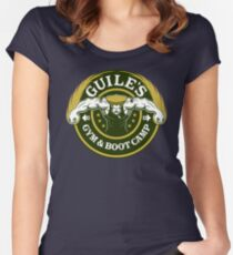 Guile's Gym & Boot Camp Women's Fitted Scoop T-Shirt