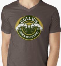 Guile's Gym & Boot Camp Men's V-Neck T-Shirt