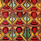 9 Angels - Ethiopian Folk art by jonkania