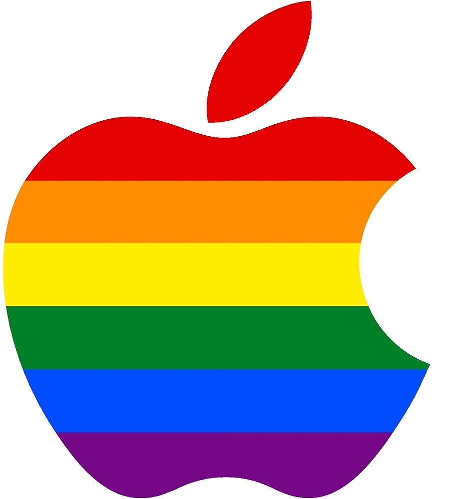 Pride Apple by melliott15
