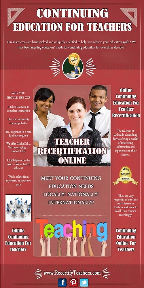 Continuing Education For Teachers by OnlineEducation