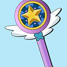 Star Butterfly's Wand by pondlifeforme