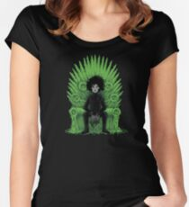 Scissors throne Women's Fitted Scoop T-Shirt