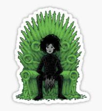 Scissors throne Sticker