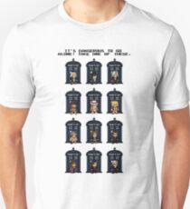 8-bit Doctor Who Unisex T-Shirt