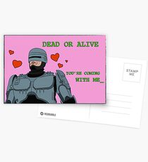 Your Move, Creep - Valentines Card Postcards