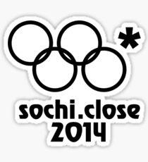 Sochi Close Sticker