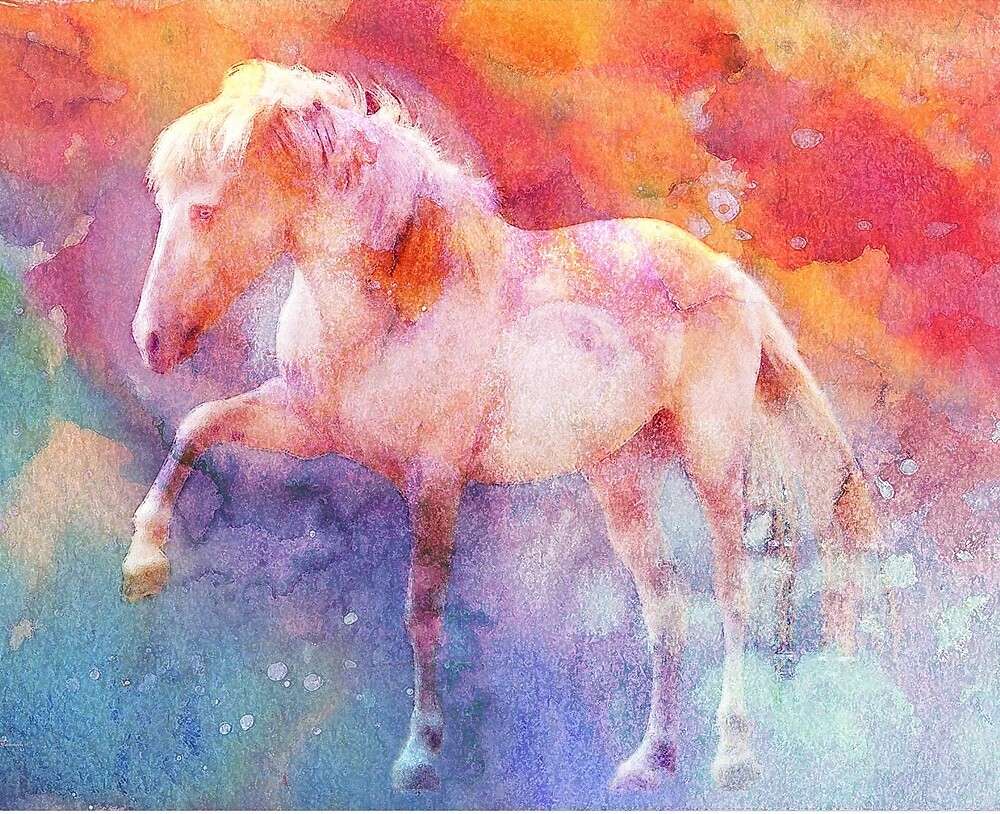ALBINO ON COLOR 3 by Tammera