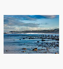 Sandsend Seascape Photographic Print