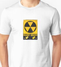 Fallout Shelter Sign  Unisex T-Shirt