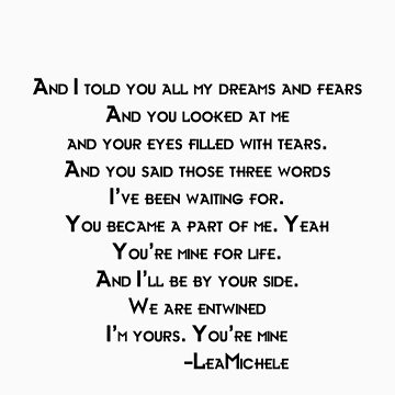 Lea Michele-You're Mine by Jboo88