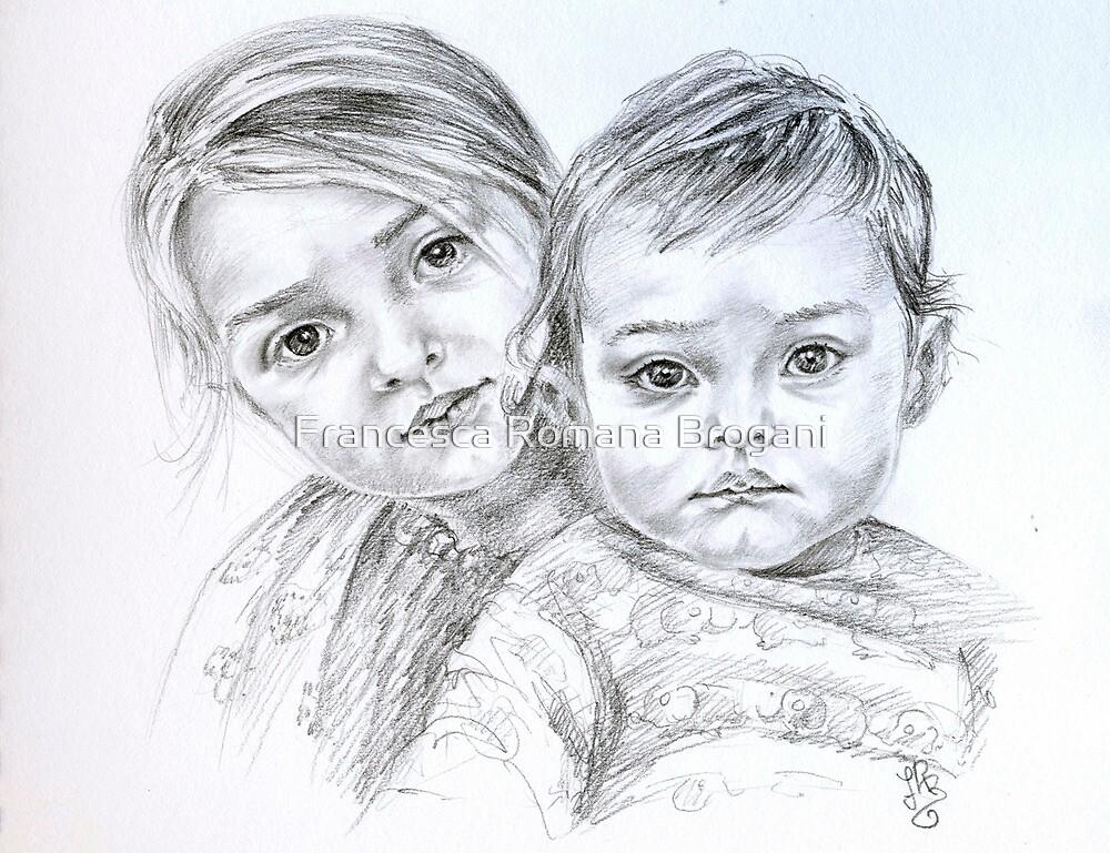 Double portrait by Francesca Romana Brogani