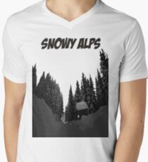Snowy Alps Men's V-Neck T-Shirt
