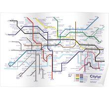 Citytypes Poster