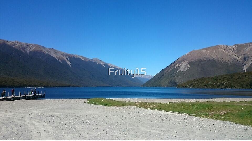 lakeside, New Zealand by Fruity15