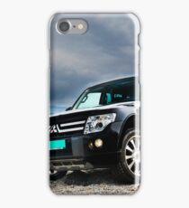 Pajero chilling at the beach iPhone Case/Skin