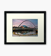Millenium Bridge - Newcastle Framed Print