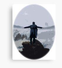 Sherlock above the Sea of Fog Canvas Print