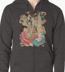 Wonderlands Zipped Hoodie
