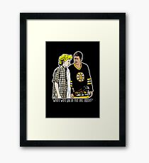 """Happy Gilmore - """"Where were you"""" Framed Print"""