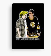 "Happy Gilmore - ""Where were you"" Canvas Print"