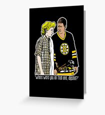 "Happy Gilmore - ""Where were you"" Greeting Card"