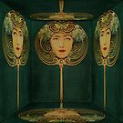 Woman in the Mirror by PineSinger