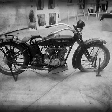 ©HS The Old Harley IA In Mono by OmarHernandez