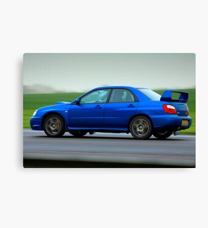 Subaru Impreza WRX STi Canvas Print