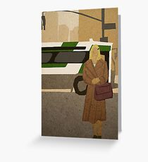 Margot Tenenbaum  Greeting Card