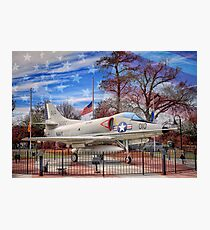 Retired Military Fighter Jet Photographic Print