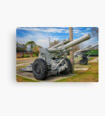 Big Guns Canvas Print
