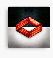 Red Box Floating Canvas Print