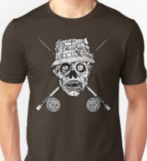 Fishing Zombie Unisex T-Shirt