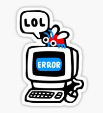 Bug d'ordinateur Sticker