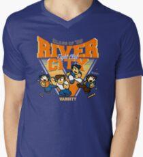 River City FC Men's V-Neck T-Shirt