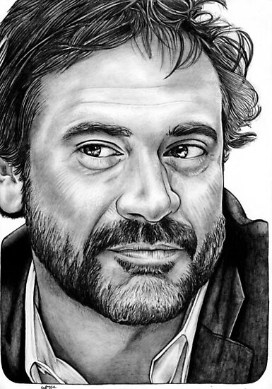 Jeffrey Dean Morgan by bonejangless