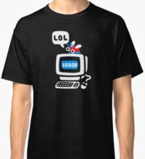 Bug d'ordinateur T-shirt classique
