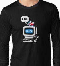 Bug d'ordinateur T-shirt manches longues