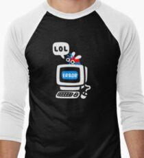 Computer Bug Men's Baseball ¾ T-Shirt