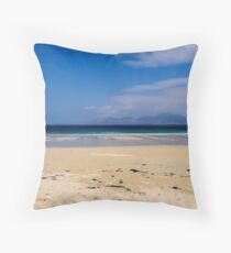 Luskentyre Throw Pillow