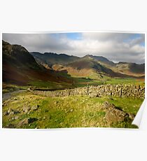 Langdale Views Poster